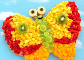 Butterfly-fruit-pizza-recipe-edible-craf