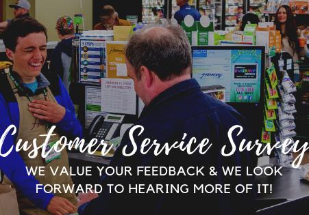 Customer Service Survey!