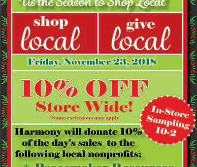 Shop Local, Give Local