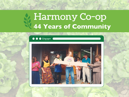 Harmony Co-op: 44 Years of Community