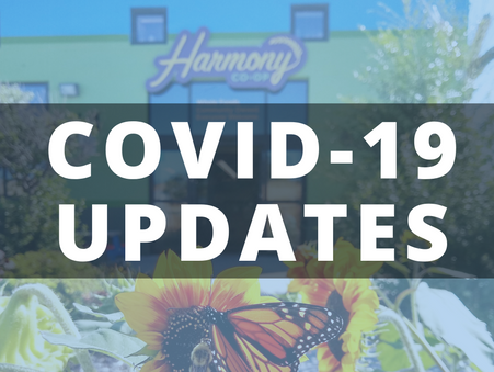 UPDATES ON CORONAVIRUS (COVID-19) PREVENTION MEASURES AT YOUR CO-OP