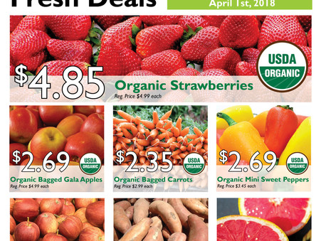 Fresh Deals through April 1st