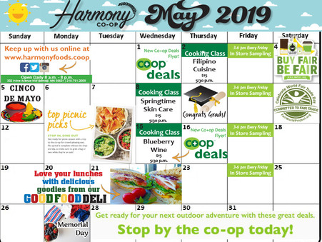 What's happening at Harmony Co-op?
