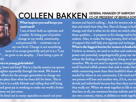 Harmony Co-op's General Manager featured with local women in InBemidji magazine