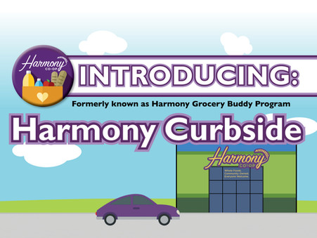 Introducing Harmony Curbside!