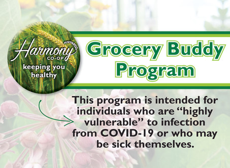 Harmony Grocery Buddy Program