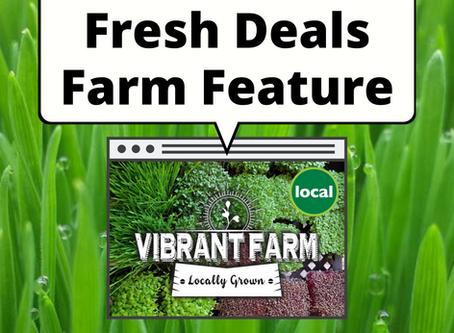 Fresh Deals Farm Feature: Vibrant Farm