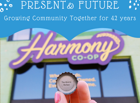 Harmony Past, Present, and Future: Growing Community Together for 42 Years