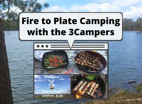 Fire to Plate Camping with the 3Campers