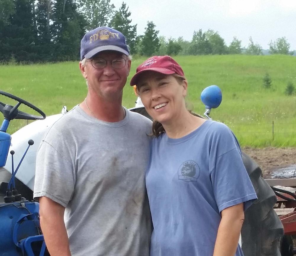 Jill and Randy of Merry Gardens Farm