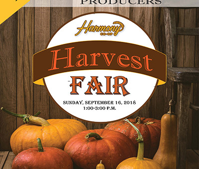 Join us at our Harvest Fair