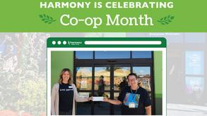Harmony Celebrates Co-op Month