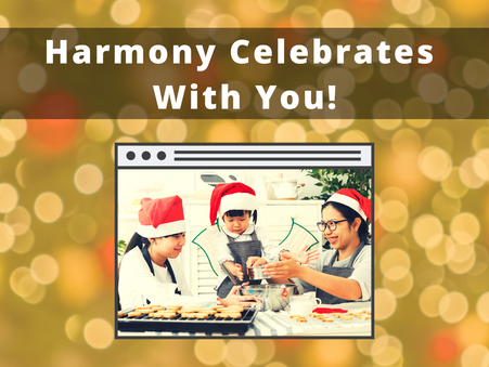 Harmony Celebrates With You