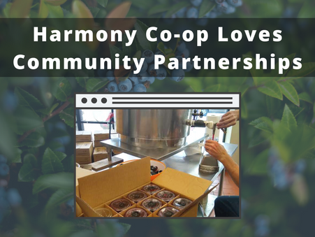 Harmony Co-op Loves Community Partnerships