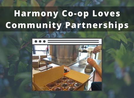 Harmony Co-op Loves Community Partnerships