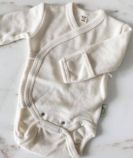 75% Merino Wool 25% Silk bodysuit
