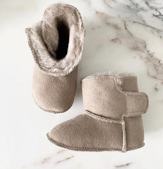 Lambskin shoes