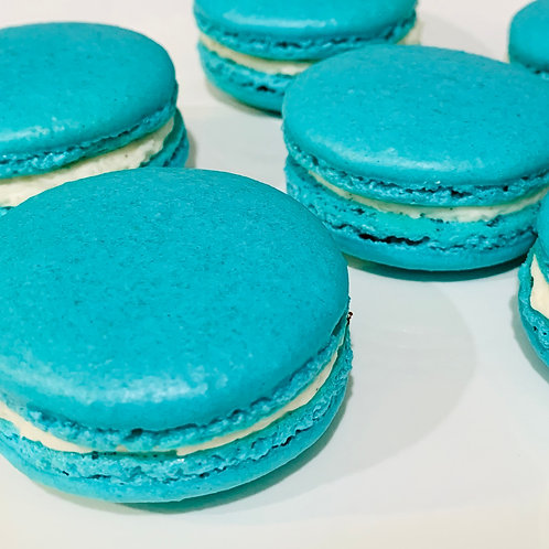 "The Child's ""Unofficial"" Blue Macarons"