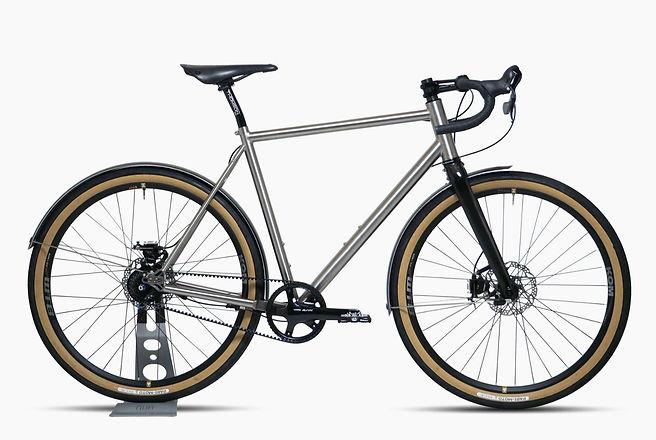 Nua Silice Rohloff or Pinion all-road titanium bicycle