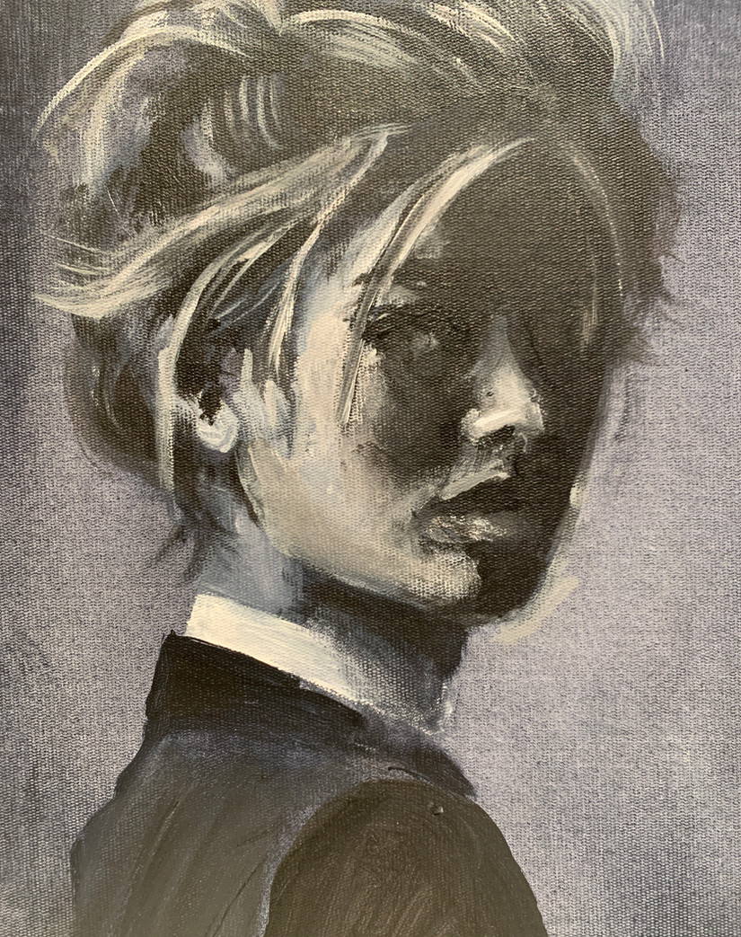 Shadow girl VERKOCHT
