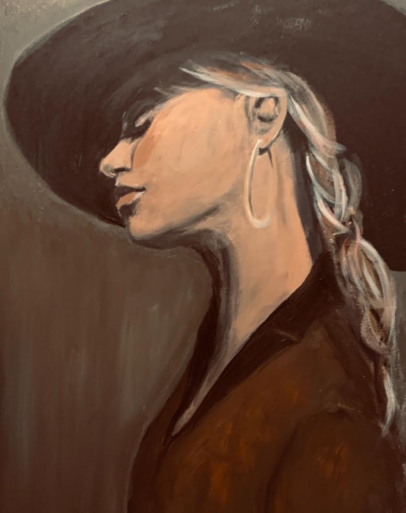 Girl with a Hattitude VERKOCHT