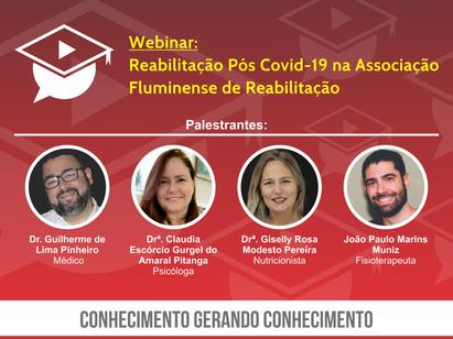Webinar: Reabilitação Pós Covid-19 na AssociaçãoFluminense de Reabilitação