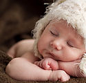 Nouveau-né bébé endormi