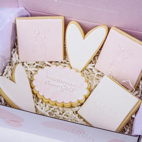 Flower Girl Cookie Box