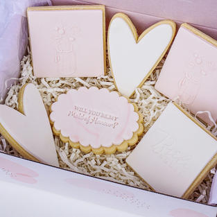 Maid Of Honour Cookie Box