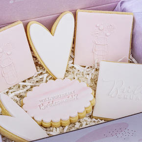 Bridesmaid Cookie Box
