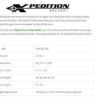 XPEDITION M15