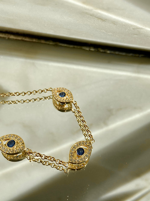 THREE EYE bracelet
