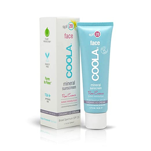 COOLA Face Rose Essence Tinted Moisturizer SPF 20