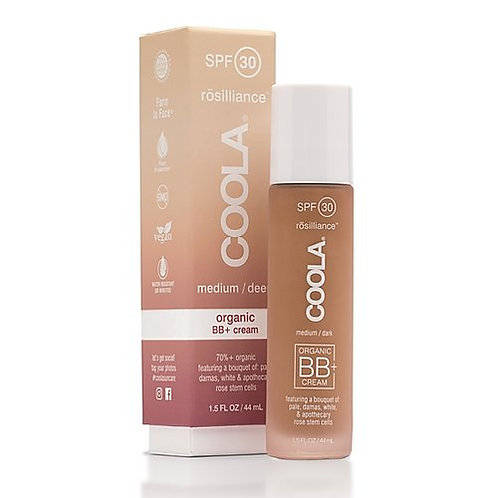 COOLA Rosilliance Mineral BB+ Cream Tinted SPF 30 Med/Deep