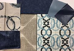 Sanibel blue cement tile design scheme