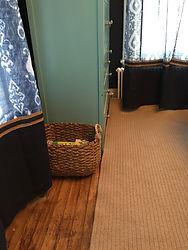 bedroom custom window treatments