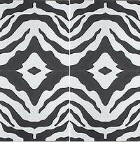 Safari zebra animal print cement tile encaustic tiles pacific hds collection handmade cement tile shop encaustic tiles moroccan cuban concrete patterned