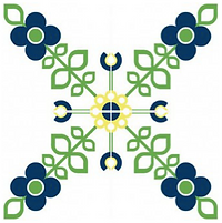 On the Vine pattern cement tile cement tile encaustic tiles pacific hds collection handmade cement tile shop encaustic tiles moroccan cuban concrete patterned