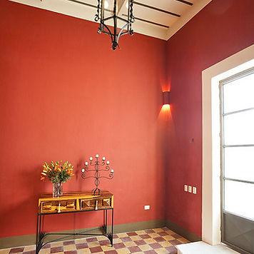 hacienda, original cement tile flooring