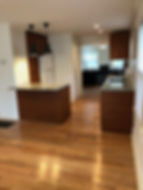 ikea kitchen hardwood floor black lighting