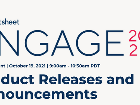 """Smartsheet announces new product features at it's annual user conference """"Engage"""""""