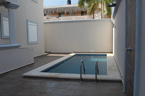Apartment of 1 bedroom, in the street for the beach in Tulum