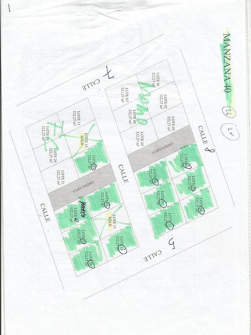 Lots 15 and 16 mzn 40 Region 15 Kukulkan Tulum
