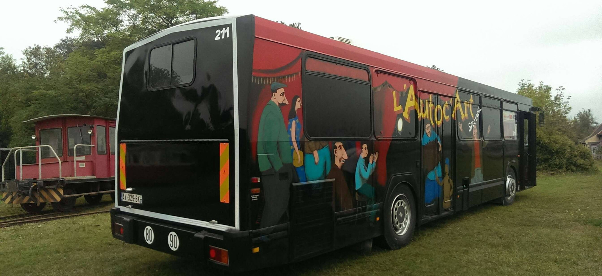 L'autobus théatre 211