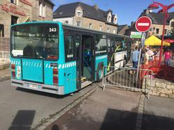 Embarquement place du Bourg