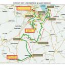 Plan du circuit Est de la balade