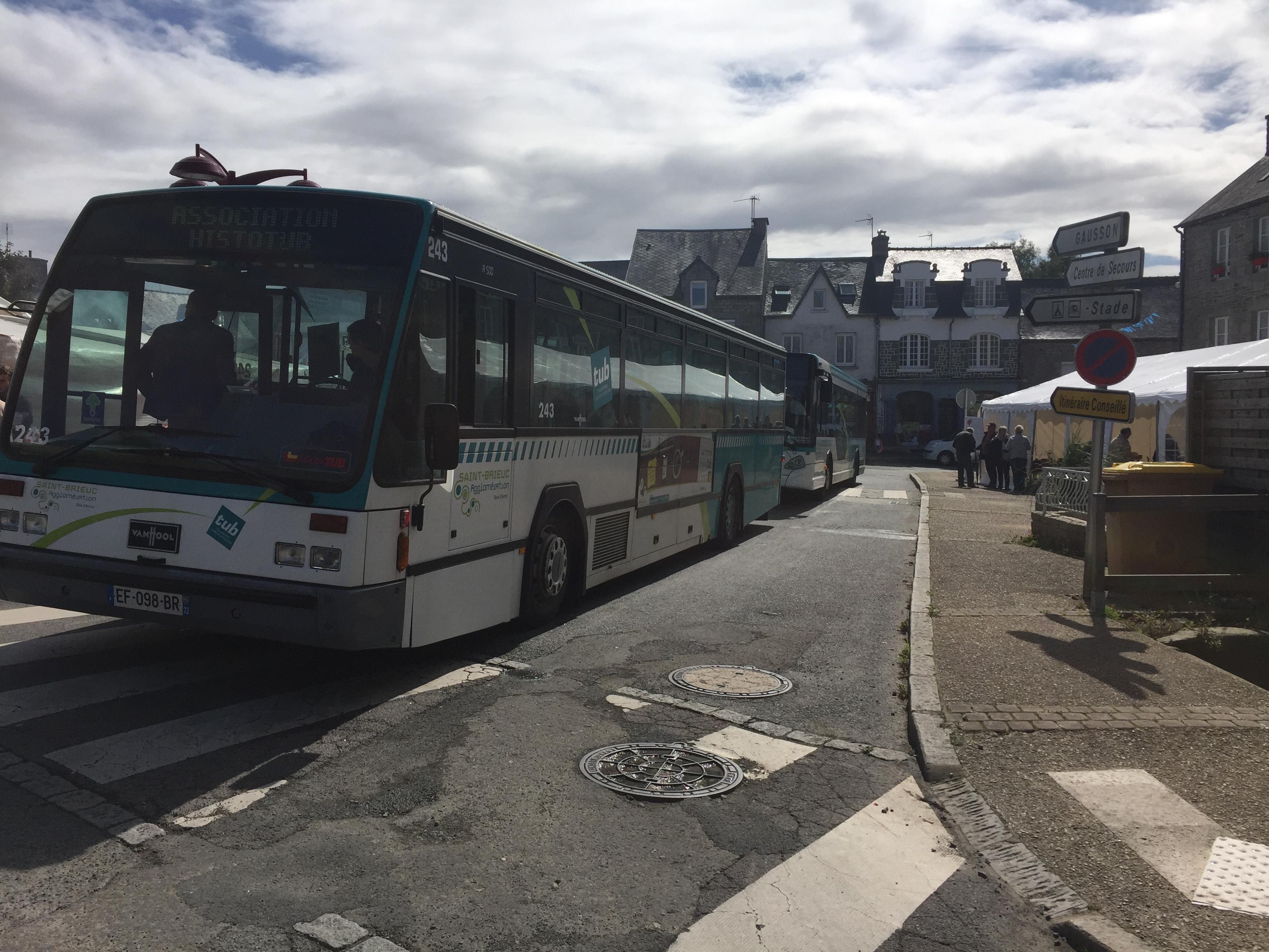 Autobus en attente