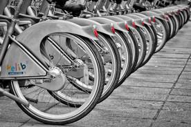 Vélib' à terre