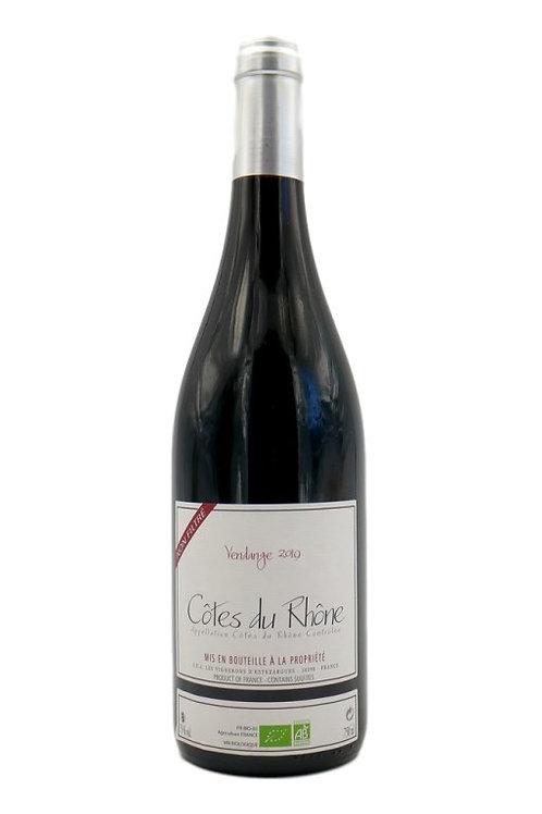 Côtes du Rhône rouge bio 2019