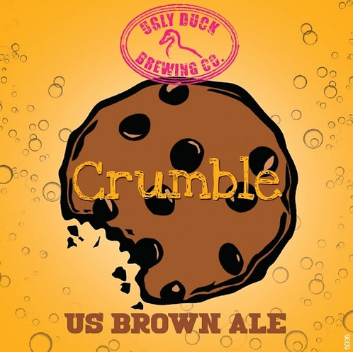 Crumble - US brown AleBRUNE 33 cl 5,70% (UGLY DUCK)